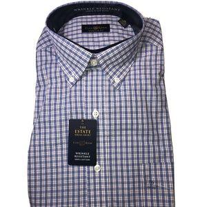 Club Room regular fit long sleeve dress shirt, 16